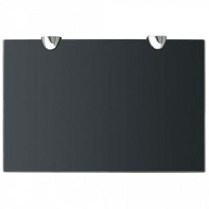 Rafturi suspendate, 2 buc., 30 x 20 cm, sticlă, 8 mm