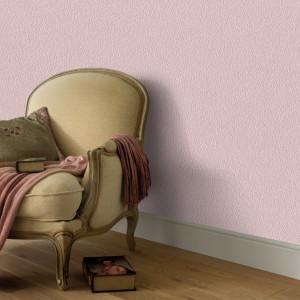 Role de tapet nețesut, 4 buc., roz strălucitor simplu, 0,53x10m