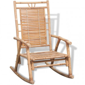 Scaun balansoar din bambus