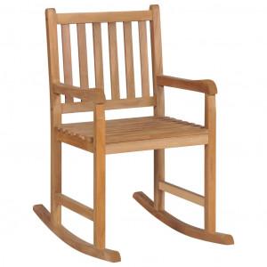 Scaun balansoar, lemn masiv de tec