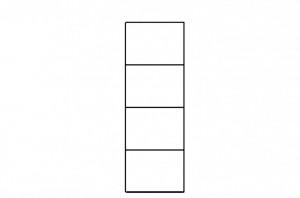 Selene 10 (biblioteca) white high gloss/white