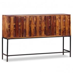 Servantă din lemn masiv de palisandru, 120 x 30 x 80 cm