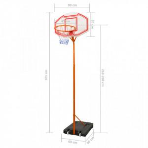 Set coș baschet, 305 cm
