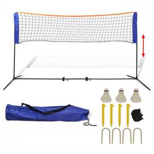 Set fileu de badminton, cu fluturași, 300x155 cm