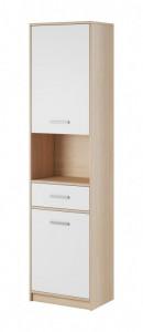 Tulia biblioteca 2d 1s oak sonoma/white&