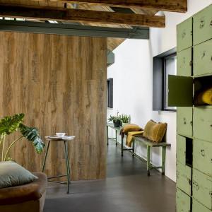 WallArt Panouri de perete aspect lemn, maro vintage, stejar reciclat