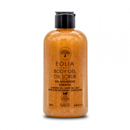 Eolia Gel Scrub Natural pentru Corp 250 ml / 8.45 fl.oz