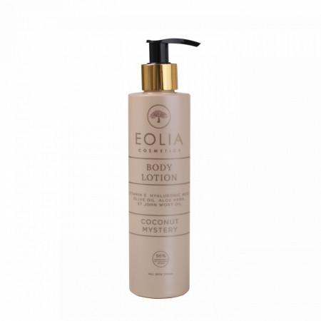 Eolia Lotiune de Corp Naturala cu Acid Hialuronic si Vitamina E si Cocos 250 ml / 8.45 fl. oz