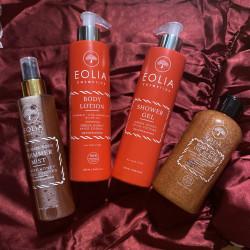 Eolia Gel Scrub Natural pentru Corp cu Miere si Scortisoara 250 ml / 8.45 fl.oz