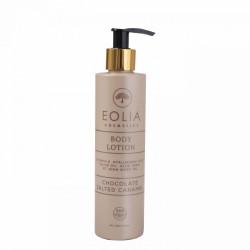 Eolia Lotiune de Corp Naturala cu Acid Hialuronic, Vitamina E si Ciocolata si Caramel Sarat 250 ml / 8.45 fl. oz