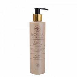 Eolia Lotiune de Corp Naturala cu Acid Hialuronic si Vitamina E, Baby Moments 250 ml / 8.45 fl. oz