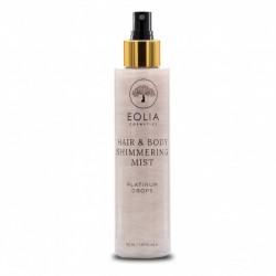 Eolia Spray Hidratant pentru Par si Corp cu Sclipici Fin Argintiu si Aroma de Orhidee 150 ml / 5.07 fl. oz
