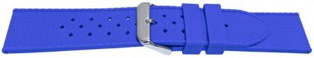 Curea silicon albastră model Rolex Tropic 22mm -55804