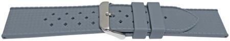 Curea silicon gri model Rolex Tropic 18mm -55808