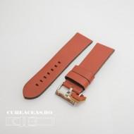 Curea piele maro castaniu vintage QR 24mm - 3830824