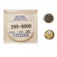 Capacitor original pentru Citizen Eco-Drive MT621 cu contact 295-60