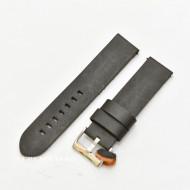 Curea piele neagră vintage QR 22mm - 3830122