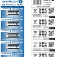 Baterie everActive A23- set 5 bucati