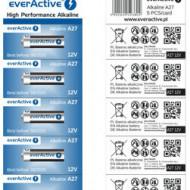 Baterie everActive 27A - set 5 bucati