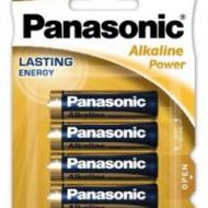 Panasonic Alkaline Power LR06 / AA - blister 4 bucati