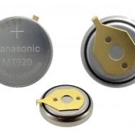 Capacitor original  pentru Citizen Eco-Drive MT920 cu contact 295-5600