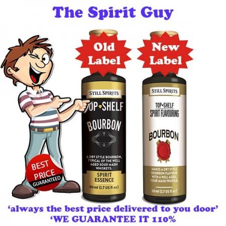 Bourbon Top Shelf Spirit Flavouring Essence -30100