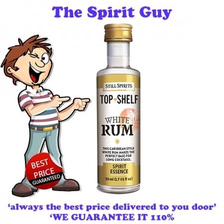 White Rum ( Bacardi ) Top Shelf Spirit Flavouring Essence