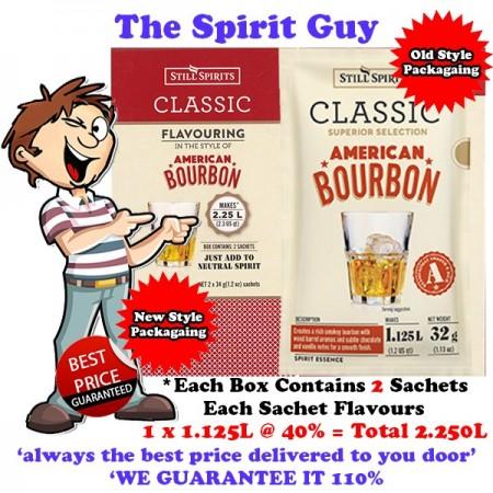 AMERICAN BOURBON - Classic SPIRIT ESSENCE - 30154-2