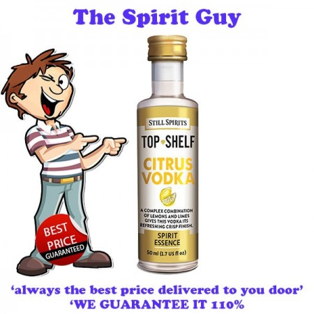 Citrus Vodka ( Absolut Citron) Top Shelf Spirit Flavouring Essence