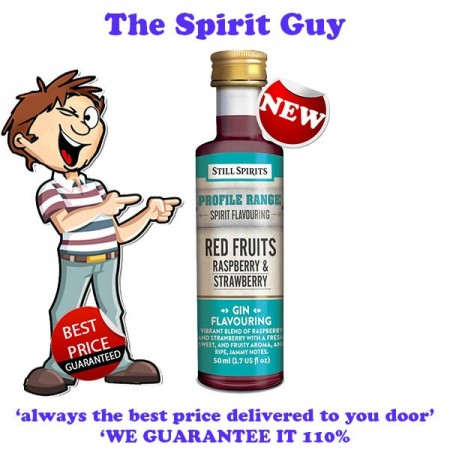 RED FRUITS RASPBERRY & STRAWBERRY - GIN PROFILE ADDITIVE - 30293