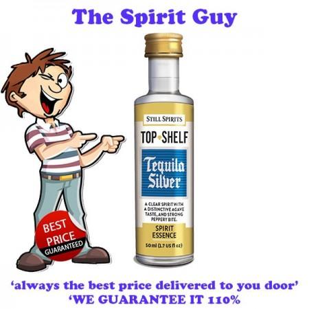 Tequila Silver ( Jose Cuervo Silver ) Top Shelf Spirit Flavouring Essence