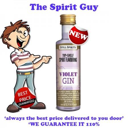 Violet ( Lavender ) Gin Spirit Top Shelf Flavouring Essence images