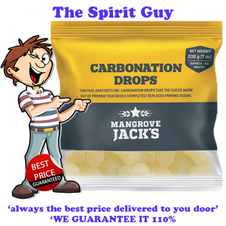 Carbonation Drops ( 60 Drops ) By Mangrove Jacks