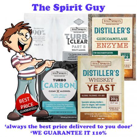 Distiller's Whiskey Yeast Combo Pack Promo - Glucoamylase Enzyme
