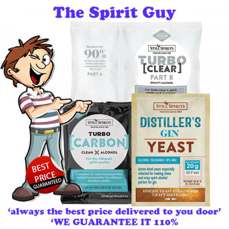 Distillers Gin Yeast Combo Pack