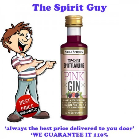 Pink ( Forest Berry ) Gin Top Shelf Spirit Flavouring Essence