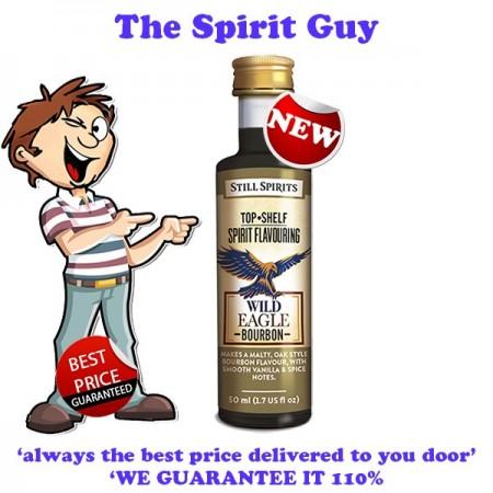 Wild Eagle ( Scrub Turkey ) Bourbon Top Shelf Spirit Flavouring Essence images