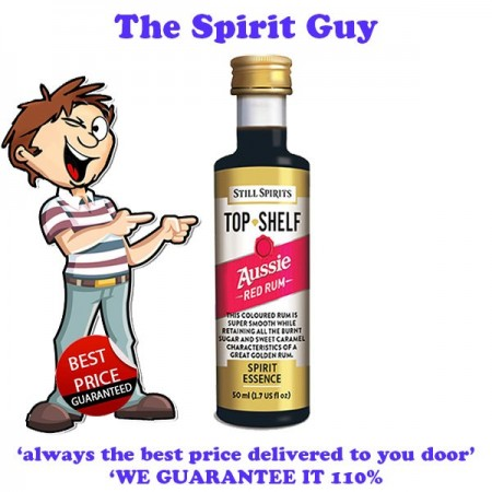 Aussie Red Rum ( Bundaberg ) Top Shelf Spirit Flavouring Essence