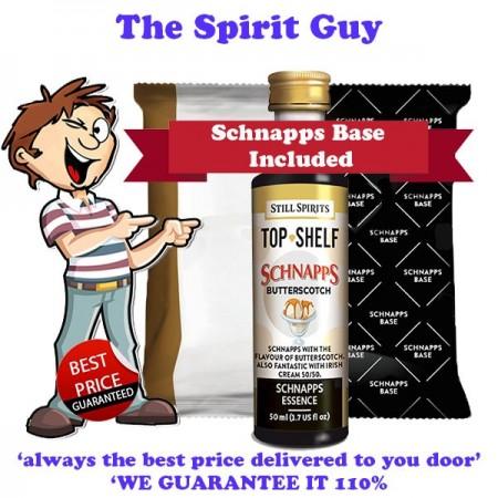 Butterscotch Schnapps Liqueur Essence Flavouring & Base Pack
