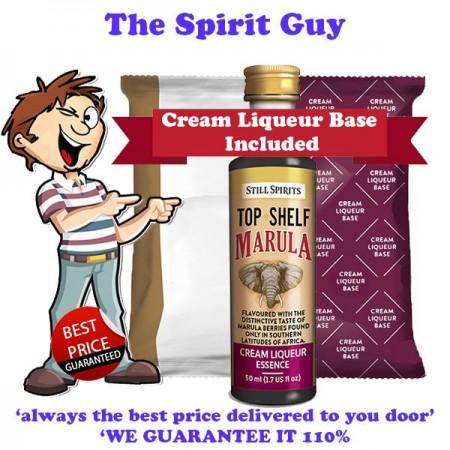 Marula ( Amarula ) Cream Liqueur Essence & Cream Base Pack