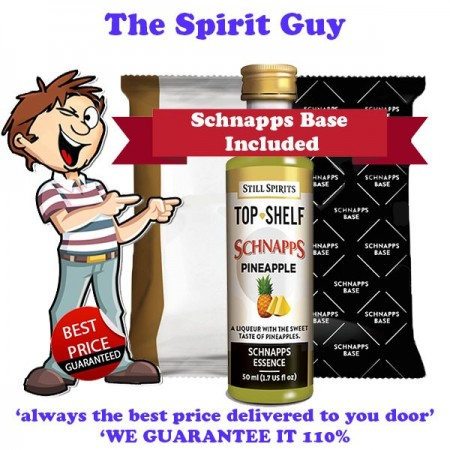 Pineapple Schnapps Liqueur Essence Flavouring & Base Pack