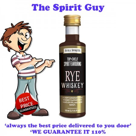 Rye Whiskey ( Canadian Club) Top Shelf Spirit Flavouring Essence