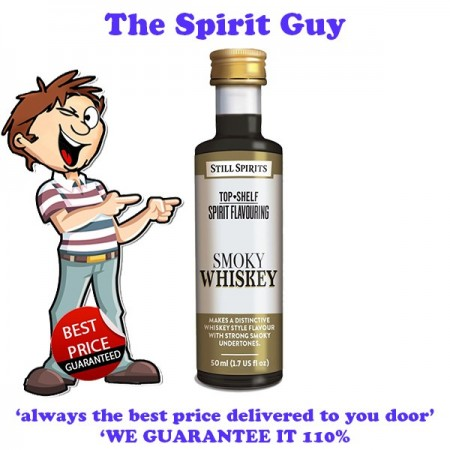 Smoky Whiskey ( Glenmorangie ) Top Shelf Spirit Flavouring Essence
