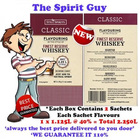 FINEST RESERVE WHISKEY - CLASSIC SPIRIT ESSENCE - 30158-2