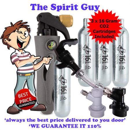 Keg Ball Lock Co2 & Liquid Dispense Kit