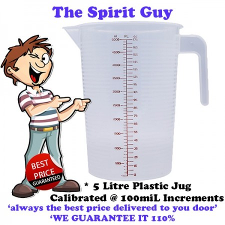 Plastic Mixing Jug 5 Litre @ $13.99 ea