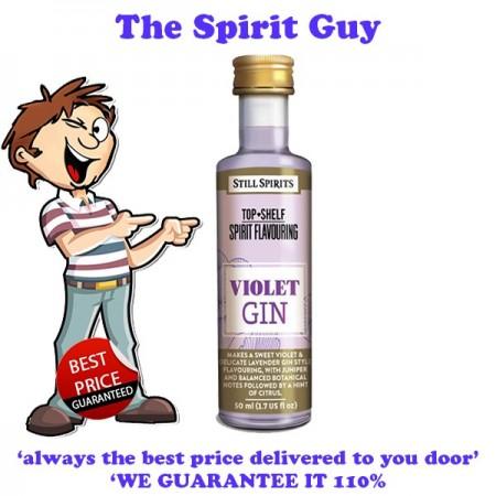 Violet ( Lavender ) Gin Spirit Top Shelf Flavouring Essence