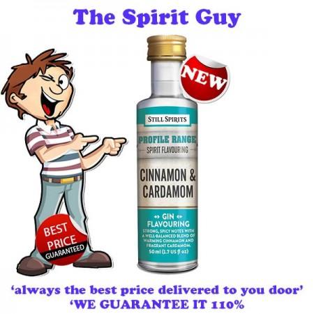 CINNAMON & CARDAMON - GIN PROFILE ADDITIVE - 30288 images