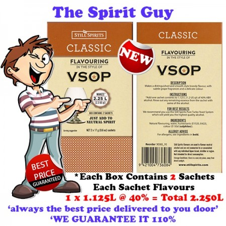 VSOP BRANDY - CLASSIC SPIRIT ESSENCE - 30161-2
