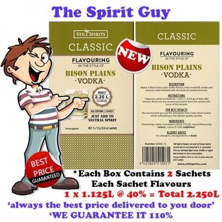 BISON PLAINS VODKA - CLASSIC SPIRIT ESSENCE - 30169-2 images